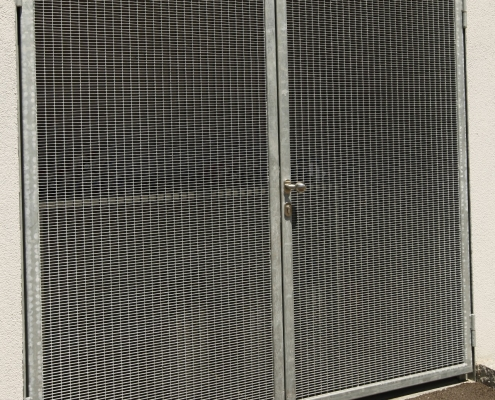 Gittertüre verzinkt