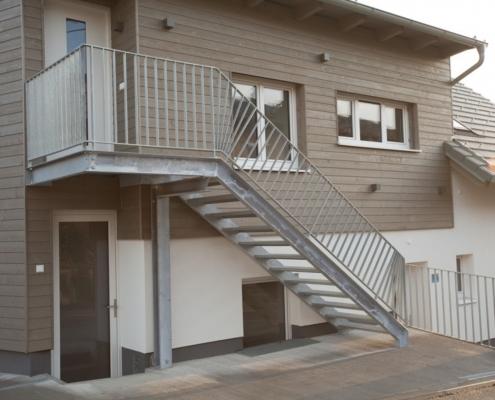 Stiegenkonstruktion Stahl verzinkt